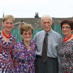 2013-09-22  huwelijksverjaardag Eleonora en Emiel 60 011a met 2 dochters