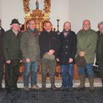 2013-11-10 Sint-Hubertusviering 004a Jagers, vrienden van de kluiskapel &E.H.Bosmaans