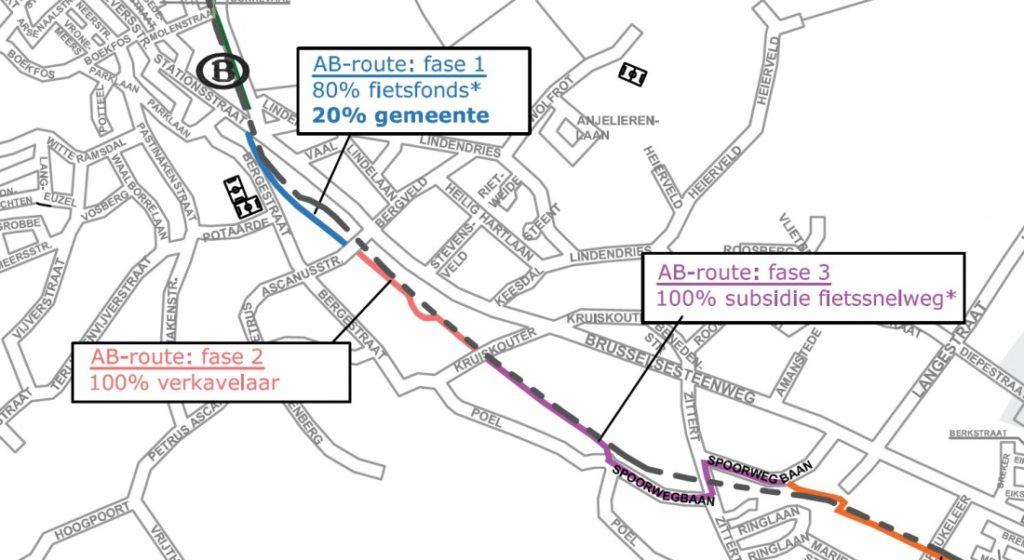 fietssnelweg AB route 1a