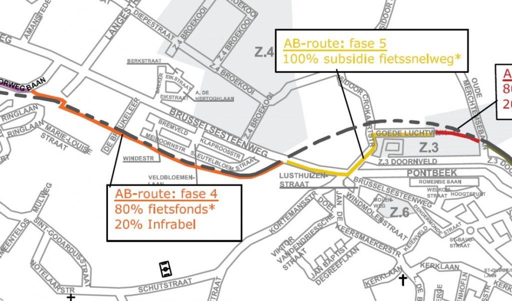 fietssnelweg AB route 1b