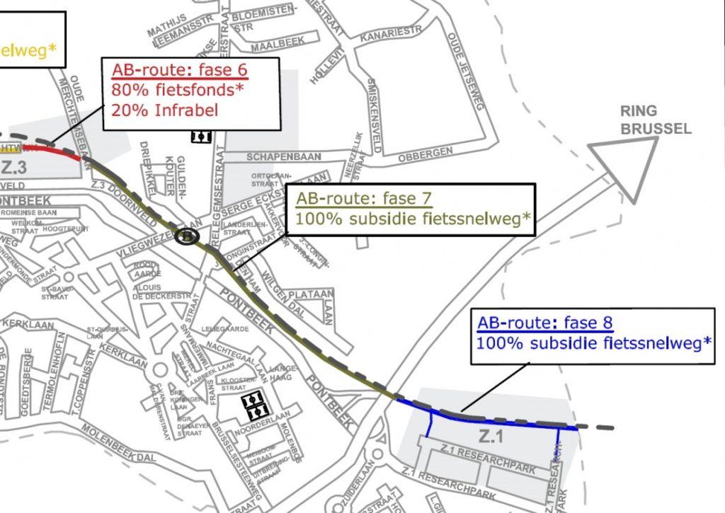 fietssnelweg AB route 1c